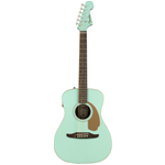 CHITARRA FOLK ELETTRIFIICATA FENDER MALIBU PLAYER SURF GREEN