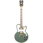 D'ANGELICO DELUXE ATLANTIC HUNTER GREEN