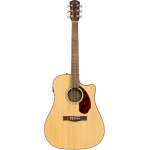 FENDER CD140SCE Dreadnought Natural ASTUCCIO