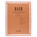BACH 6 SUITES FRANCESI BWW 812-817 PIANOFORTE REV.CASELLA