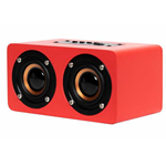 CASSA MONITOR OQAN QBT-100 BT SPEAKER BLUETOOTH RED