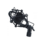 SUPPORTO MICROFONO SHOCK MOUNT 22-24 MM